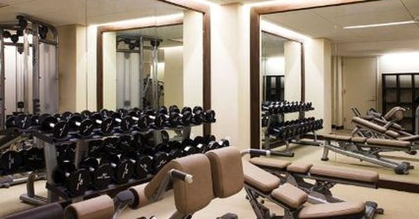Cannot Wait To Have An At Home Fitness Room Gym Room At Home Home Gym Mirrors Gym Lighting