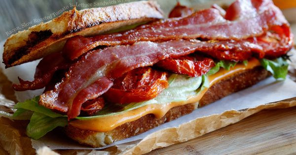 Lettuce sandwich, Slow roasted tomatoes and Aioli on Pinterest