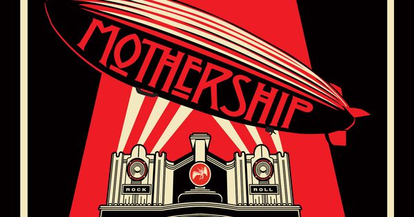 My First Album Bought Mothership Album Led Zeppelin