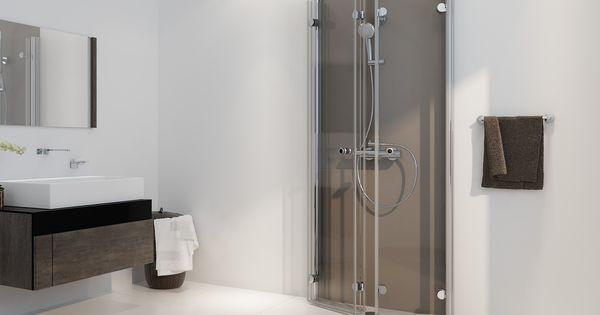 drehfaltt r duschkabine u form ab 70 x 70 x 220 cm. Black Bedroom Furniture Sets. Home Design Ideas