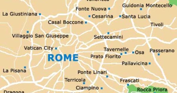 Rome Maps And Orientation Rome Lazio Italy Casal