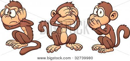 Stock Vector By Memo Angeles Cartoon Monkey Monkey Drawing Monkey Art