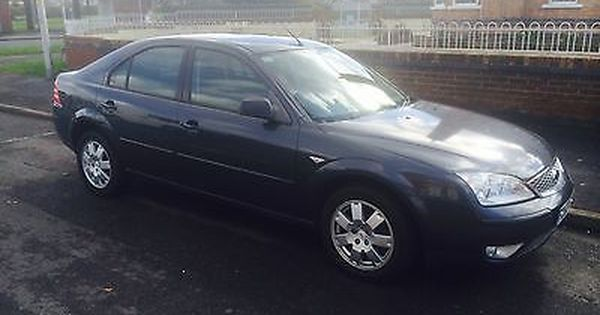 Ebay 2007 Ford Mondeo Zetec Tdci Grey Spares Or Repairs Mot 1