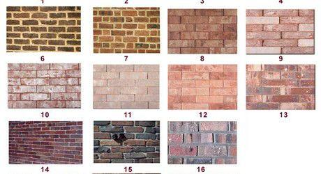 Faux Brick Finishes From Urban Revivals Exterior Brick Brick