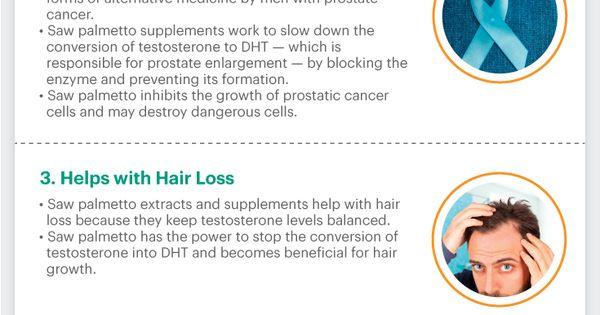 Is saw palmetto good for hair