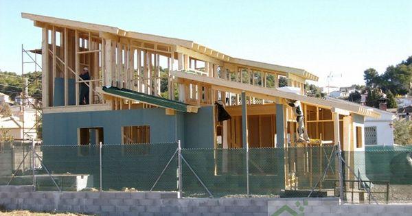 Construcci n casa de madera kuusamo en piera barcelona - Casas de madera barcelona ...