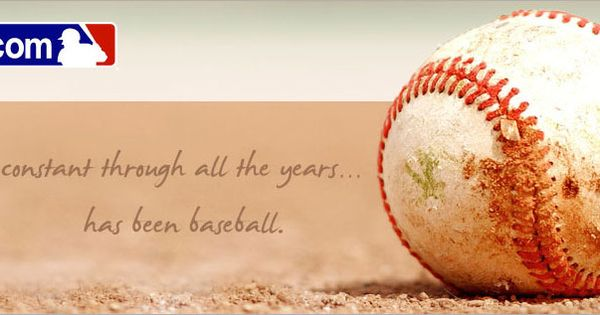 the one constant through all the years...has been baseball.