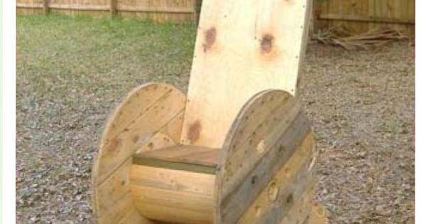 Redneck Rocking Chair Crafty Ideas Pinterest Rocking