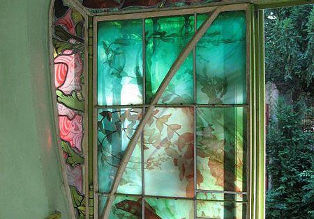 jacques gr ber vitrail de jacques gruber aquarium du. Black Bedroom Furniture Sets. Home Design Ideas