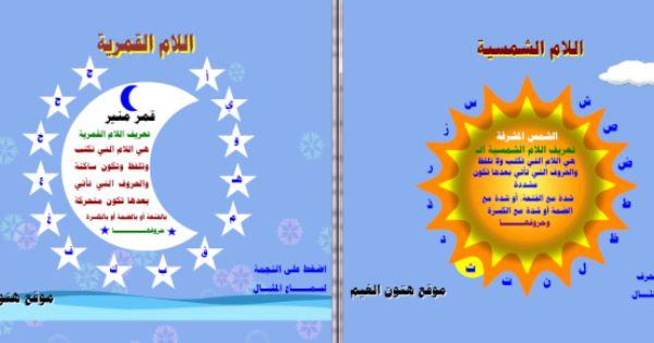 صور ال التعريف موقع الصف الأول أ المعلمة علياء بقاعي Arabic Alphabet For Kids Art Classroom Islamic Kids Activities