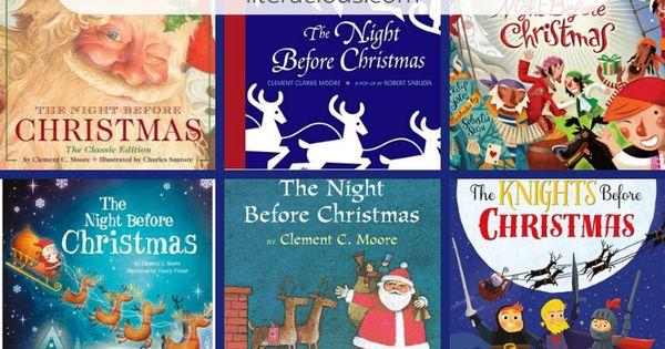 Twas The Night Before Christmas Literacious The Night Before Christmas Books For Autistic Children Christmas Books