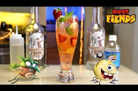 Best Fiends Mojito Youtube Coconut Rum Mojito Strawberry Lime