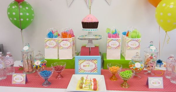 Cupcake Decorating Party: decoration idea