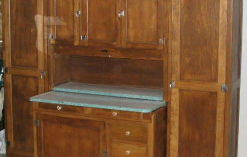 Hoosier cabinets sellers hoosier kitchen cabinet fk0028 for Kitchen cabinets zen