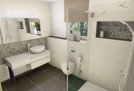 badezimmer beispiele 10qm | badezimmer | pinterest, Badezimmer dekoo