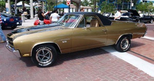 1970 Chevrolet El Camino SS  Automobiles  Pinterest  Chevrolet