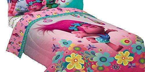 Pin On Kids Bedding, Trolls Queen Bedding