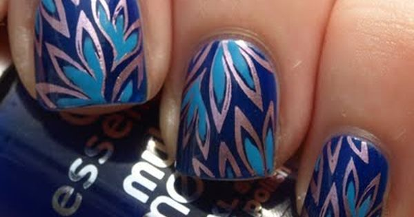 Pretty Patterned NailArt