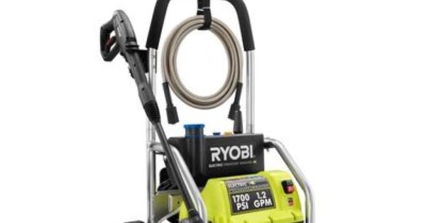 Ryobi Ryobi 1700 Psi 1 2 Gpm Pressure Washer Ry80721