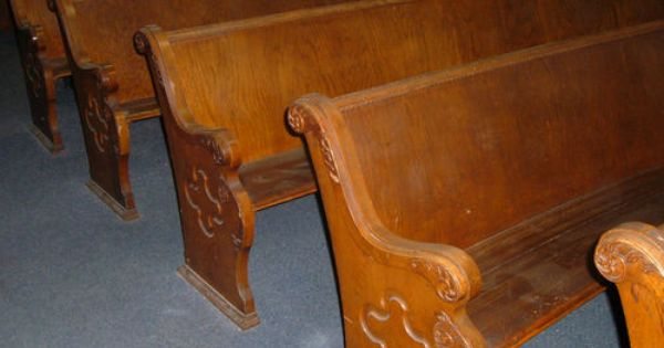 Antique Oak Church Pews 10 Ft Long Antique Furniture Pinterest Antique Furniture