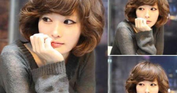 Remarkable Her Hair Short Perm And Korean Short Hair On Pinterest Short Hairstyles Gunalazisus