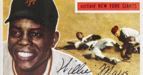 Willie Mays With Images Willie Mays Baseball Cards For Sale Baseball Card Values