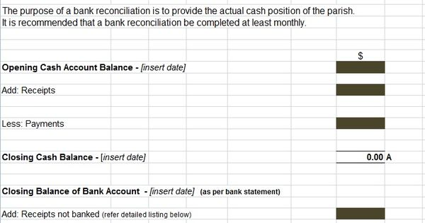 bank reconciliation statement excel format project management templates and certification template the of cash flows is not useful for