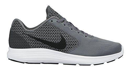 Nike Men S Revolution 3 Running Shoe 11 5 Cool Grey Bla Running Shoes For Men Best Running Shoes White Running Shoes