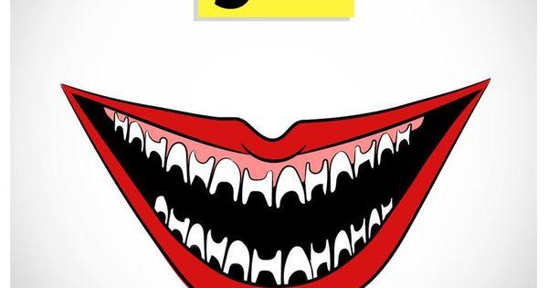 Batman Joker Smile Vector Png Png 500 500 Joker Tattoo Design Joker Art Drawing Joker Drawings