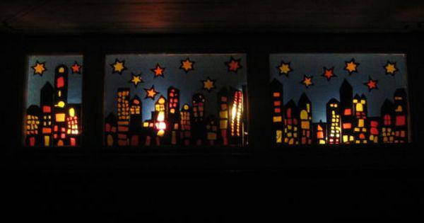 Schulen Frauenfeld Adventsfenster Kinder Basteln