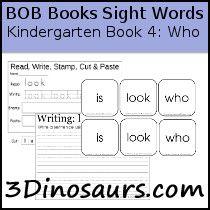 Pin On Bob Books Kindergarten Sight Words
