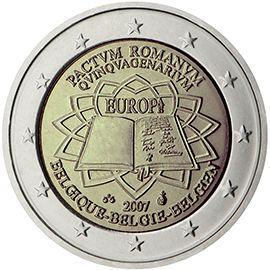 Monedas Conmemorativas De 2 Monete Vecchie Monete Numismatica