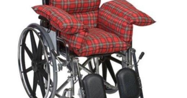 Wheelchair Seat Cushion Body Pillow Support Pad Geriatric