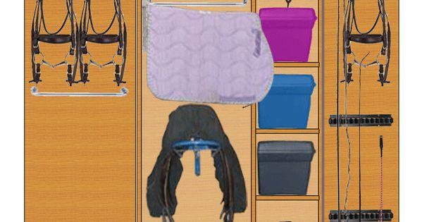 fabrication d 39 une armoire de sellerie bricolage. Black Bedroom Furniture Sets. Home Design Ideas