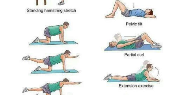 exercises to help with lower back pain work pinterest. Black Bedroom Furniture Sets. Home Design Ideas