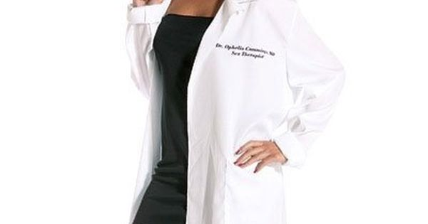 sexy in a lab coat