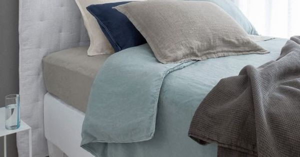 linge de lit chanvre lav helm ampm via nat et nature bed linen pinterest recherche et. Black Bedroom Furniture Sets. Home Design Ideas