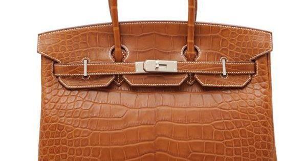 birkin bag knock off - Hermes Birkin bag 35 Fauve Alligator Barenia Crocodile Skin Silver ...