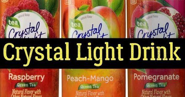 Crystal Light Drink Side Effects Nutrition Facts Alternatives Crystal Light Drinks Pomegranate Green Tea Mango Green Tea
