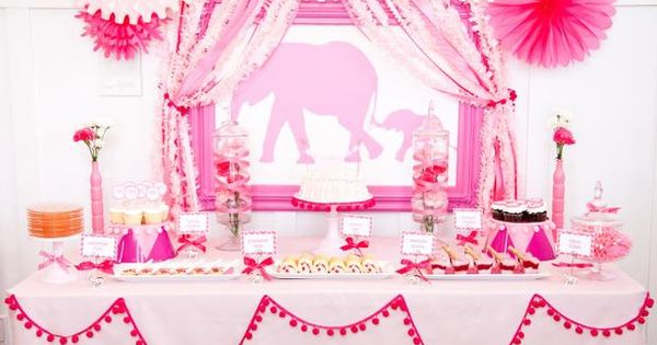 Pink elephant party! 8 fabulous birthday party themes for girls | Kara