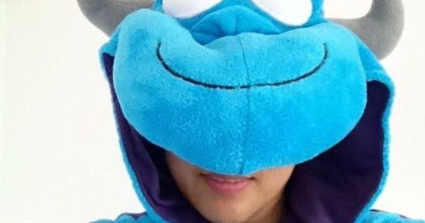 my sulley onesies...do you like? cheap onesies http://www.sale-pajama.com/ adult animal ...