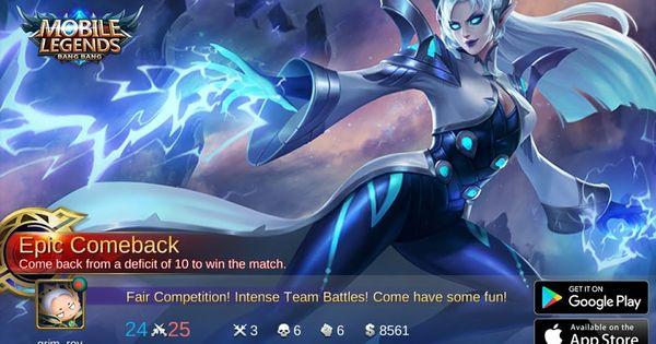 Pin On Mobile Legends Bang Bang Gameplay