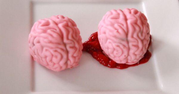 Quake N Bake Brain Cake Pops
