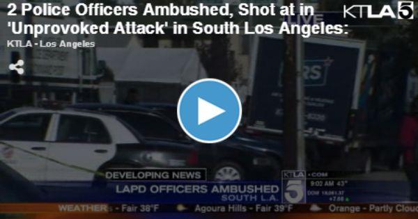 South Central La Cops Under Fire Gunmen Fire On Lapd Patrol Car In South L A Prompting Tactical Alert Http Gunpro Salessupplychain Com S Lapd Car Cops