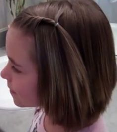20 Short Hairstyles For Little Girls Haircuts For Little Girls Kids Short Haircuts Cool Hairsty Short Hair Ponytail Little Girl Haircuts Short Hair With Bangs