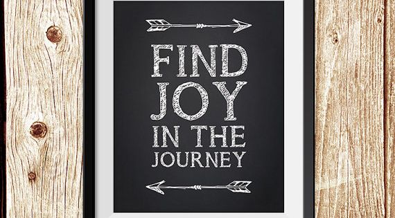 Find Joy In The Journey Motivational Poster Pdf