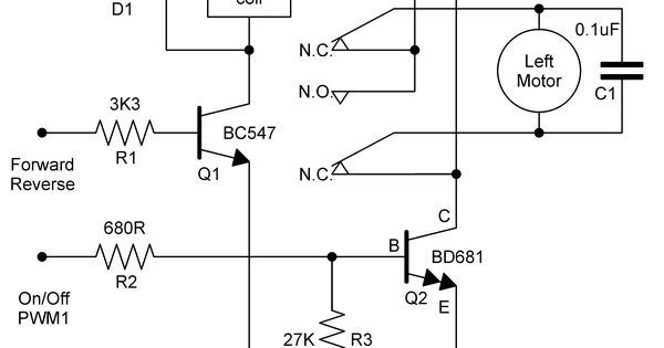 bridge relay circuit diagram