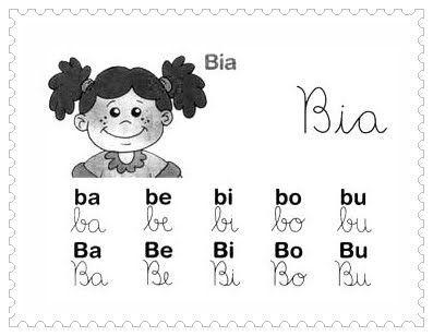 Silabas Com Ba Be Bi Bo Bu Para Aprendizado Aprendizado Regras