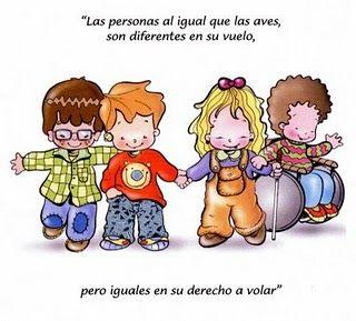 Pin De Gaby Becerra En Pics With Messages Derechos De Los Niños Familia Y Discapacidad Frases Educativas