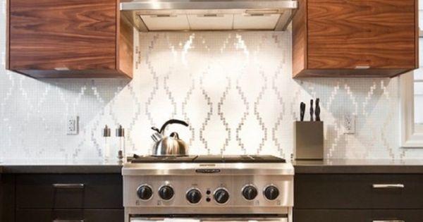 Creative silver color scheme vinyl wallpaper kitchen for Vinyl wallpaper backsplash